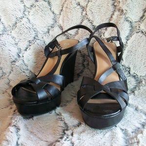 Brash size 10 Wedge Heels Sandals